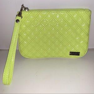 Express Fluorescent Yellow Wristlet/Wallet